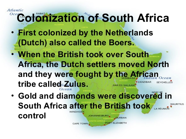 a paper on british colonization and interests in africa