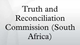 truth reconciliation commission in sa The trc was an ambitious project established with the mandate to try to promote reconciliation in south africa i think the successes is firstly in terms of truth the truth commission has established a fairly comprehensive official record of the past it's very difficult for people to.