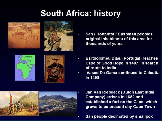 an introduction to the history of south africa